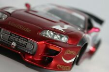 1/18 TOYOTA SUPRA VEILSIDE APEXI Import Racer Die-cast Modified Custom Rare