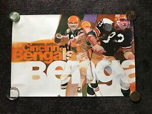 Cincinnati Bengals, 1970 NFL Collectors Series Poster, Signed G. Bartell
