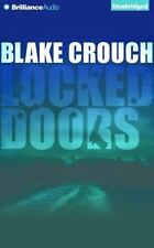Blake Crouch LOCKED DOORS A Novel of Terror 2 Unabridged CD *NEW* Fast Ship!