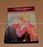 VANESSA PARADIS AU ZÉNITH - COFFRET CD + VHS + PHOTOS - COLLECTOR
