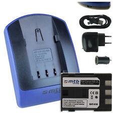 Chargeur+Batterie (USB) NB-2L pour Canon ZR300, ZR400, ZR500, ZR600, ZR700
