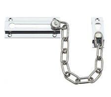 Door Chain for Front Door - High Security Door Chain Lock with Chrome Finish