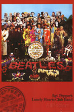 The Beatles - Sgt Pepper Poster Print 24x36 Rock & Pop Music