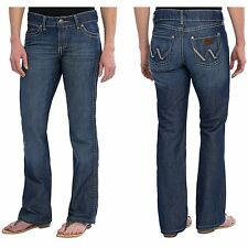 Wrangler Machine Washable Low Boot Cut Jeans for Women