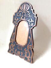 antique art nouveau French easel back carved wood frame