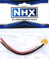 """NHX XT30U Female Adapter Connecter with 18 AWG 4"""" Silicone Wire"""