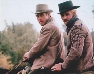 Pristine, Robert Redford Signed Color Photograph, Paul Newman, 'Butch Cassidy'