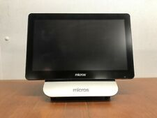 Micros Oracle Workstation 6 Pos Terminal mWorkStation 400914-102 w/Stand Tested
