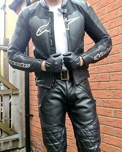 Alpinestars GP Pro Black Leather Jacket UK38/ EU48