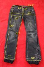FREESOUL size 27 jeans cotton boot cut women black