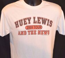 2009 HUEY LEWIS and the NEWS Concert Tour T-Shirt Mens size M LIVE Rare 80's