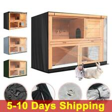 Heavy Duty Bunny Hutch Cover Garden Pet Protect Waterproof Anti Wind 4FT Cover