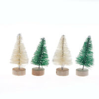 6pcs Christmas Tree Mini Pine Trees Home Desktop Decor Christmas Decor Kids Pip