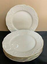 "Rosenthal Classic Sansoucci Ivory & Gold Trim 9 3/4"" Dinner Plates Lot 5"