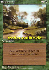 2x Seelenruhe (Tranquility) Magic limited black bordered german beta fbb foreign