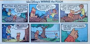Winnie the Pooh by Walt Disney - 1st page! - color Sunday comic - June 25, 1978