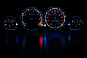 Opel Corsa B/Tigra design 1 glow gauges dials plasma dials kit tacho glow dash s
