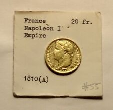 New ListingFour Beautiful 20 Francs Gold Coins Napoleon I (1810,1811,1812, 1813)