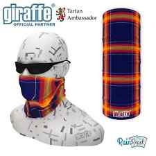 Sunburn Scottish Tartan Multifunctional Headwear Neckwarmer Snood Bandana Tube