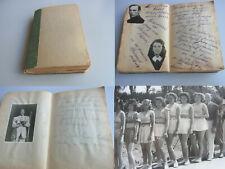 Album 1946/47 VARIETÉ & ZIRKUS: Widmungen & Fotos für eine Sprungbrett-Artistin