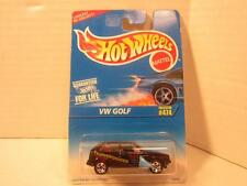 Hot Wheels VW Golf #474 Fahrvergnugen Underbody Sculpting NIP 1996 Diecast Car