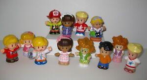 Lot of 12 Fisher Price Little People Boys & Girls: Pre-School, Nursery, Friends