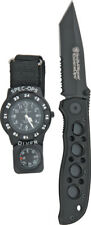 Smith & Wesson Special Ops Watch/Knife Combo SPEC OPS-2 Includes a SW5TBS Extrem
