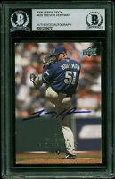 Padres Trevor Hoffman Authentic Signed 2008 Upper Deck #629 Card BAS Slabbed