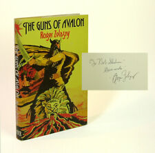 Roger Zelazny / THE GUNS OF AVALON Signed First Edition 1974
