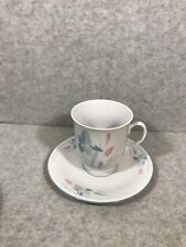FRESH FLOWERS BY EXCEL IRIS PATTERN CUP AND SAUCER
