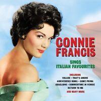 CONNIE FRANCIS - SINGS ITALIAN FAVORITES  2 CD NEW!