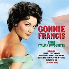 CONNIE FRANCIS - SINGS ITALIAN FAVORITES  2 CD NEUF