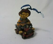 The Boyd'S Bears & Hare'S Casey'S Siren Ride Where'S The Fire Figurine Mib