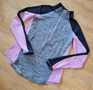 LADIES UNDER ARMOUR COLD GEAR FITTED ZIP NECK TOP SIZE MEDIUM