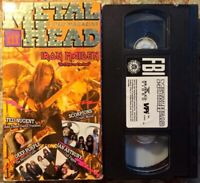 """Metal Head Video Magazine Volume III 3 - Iron Maiden"" VHS Deep Purple Scorpions"