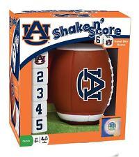Auburn Tigers Football Shake N' Score Game [NEW] NCAA Dice Board Play