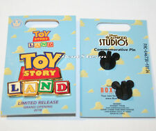 Disney Toy Story Land Blocks Pin Limited Release Grand Opening 2018 BoxLunch NOC