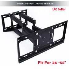 """TV Wall Bracket Mount Swivel Tilt for brand 26 -55"""" LED LCD 3D Plasma Cantilever"""