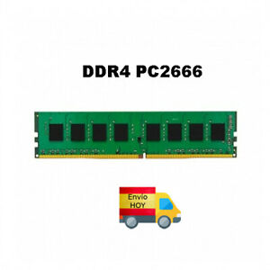MODULO MEMORIA RAM DDR4 4GB PC2666 KINGSTON PC ORDENADOR ENVIO HOY