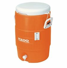 Igloo 10 Gallon Seat Top Water Cooler Beverage Jug w/ Spigot & Cup Dispenser