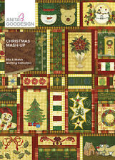 Anita Goodesign Christmas Mash-Up Embroidery Machine CD NEW 297AGHD