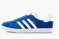 Adidas Gazelle Royal Blue White Suede Sneakers