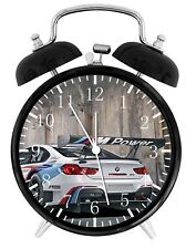 BMW Race Car Alarm Desk Clock Home or Office Decor F41 Nice Gift