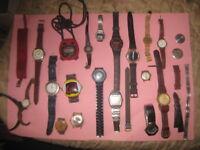 Lotto misto orologi da polso vintage