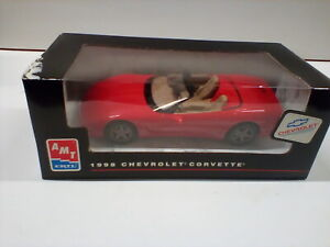 ERTL AMT Promo Built Model Car Red Corvette 8089  New