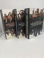 The Walking Dead Compendium Volume 1,2,3 Used