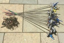2 VGC LP Bayonet Club School foil fencing swords size3 RH  +2 body-wires