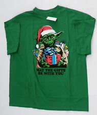 Yoda christmas shirt mens xl new may the gifts be with you tshirt star wars