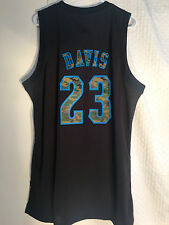 Adidas Swingman Jersey NEW ORLEANS Hornets Anthony Davis Black Camo sz 2X