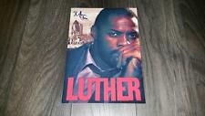 """LUTHER PP SIGNED 12""""X8"""" A4 PHOTO POSTER IDRIS ELBA"""